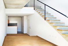 Urban Style Pampa - F2M Arquitectos - Doble altura unidad de 2 ambientes - +Info: http://www.f2mstudio.com.ar/p/urban-style-pampa.html