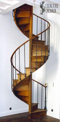 Escalier colima on ancien la brocante de balines decor pinterest stai - Escalier en colimacon ...