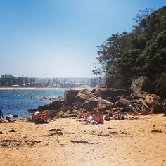 Shelly Beach, Manly. A tranquil little beach just a stroll away from the busy tourist town of manly. It makes for the perfect walk on a beautiful summers day.