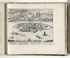 Aanleg van schans Papenmuts op Kompenwerdt, 1620