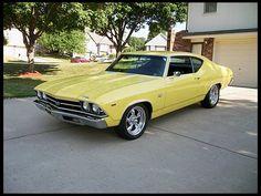 1969 Chevrolet Chevelle SS  396/350 HP, 4-Speed