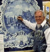 #Delft, Netherlands. Blue Delft Pottery. Royal Delftware has been made in Delft since the 1500's. It is BEAUTIFUL and full of images from   local culture!
