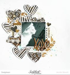 "And the complete layout - using the gorgeous My Mind's Eye collection ""Yes, Please"". Check it out in the @scrapbookwerkstatt shop.  #scrapbooking #scrapbookwerkstatt #layout #mixedmedia #diy #memorykeeping #sbwdesignteam #sbw"