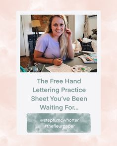 You want to learn hand lettering but don't know where to start? Sign up to my email list and I will send you everything you need to know! #handlettered #handlettering #practicesheet #worksheet #free #freepracticesheet #freeworksheet #freehandlettering #calligraphy #artist #etsyshop #etsy #etsyseller Calligraphy Artist, Hand Lettering Practice, Email Form, Email List, Need To Know, Etsy Seller, Hands, Etsy Shop, Sign