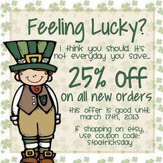 Feeling Lucky Sale