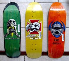 Memorable graphics by Marc McKee for Blind Skateboards.