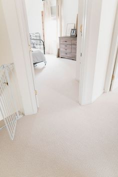 Why We Installed Wall-to-Wall Carpeting Upstairs – Lauren McBride Mohawk Carpet low pile berber in the style Ensemble-color, called Chorale Carpet Diy, White Carpet, Best Carpet, Wall Carpet, Modern Carpet, Carpet Flooring, Carpet Decor, Cheap Carpet, Home Depot Carpet