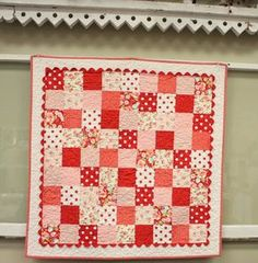 Bright new quilt + baby quilt kits