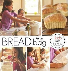 Bread In A Bag You'll Love This Very Easy Recipe | The WHOot