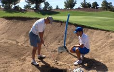 Have you ever noticed how Tour pros will often *try* to hit a ball into a greenside bunker on a par five in order to make an easy birdie? How would you like to start employing that strategy? Today, Martin Chuck brings you another tip from his Tour Striker Golf Academy in Arizona. This time, he takes