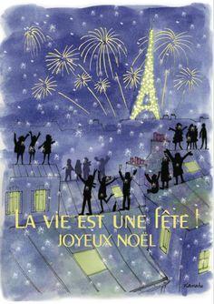 Joyeux Nöel à Paris