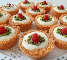 12 interessantesten Dessert-Rezepte im Februar - leckere Rezepte, Fun Easy Recipes, Sweets Recipes, Cake Recipes, Pudding Recipes, Delicious Recipes, Arabic Dessert, Arabic Food, Iftar, Ramadan Desserts