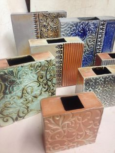 square slab vases 2
