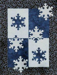 - Snowflake Quilt, Snowflake Pattern, Snowflakes, Quilt Sizes, Applique, Kids Rugs, Joy, Blanket, Sewing