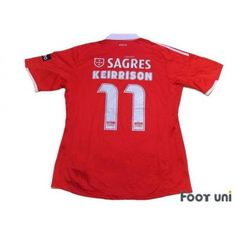 897c0e1fa8b Photo2: Benfica 2009-2010 Home Shirt #11 Keirrison w/tags adidas -
