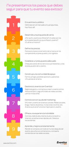 9 pasos para organizar un evento creativo y exitoso « Blog de Eventioz