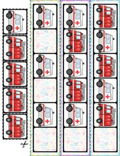Teach basic AB patterns with these Transportation Vehicles fill in the pattern cards! 30 cards and super quick prep! Elementary Education Activities, Autism Activities, Learning Resources, Transportation Theme Preschool, Do A Dot, Community Helpers, Card Patterns, Preschool Worksheets, Fun Math
