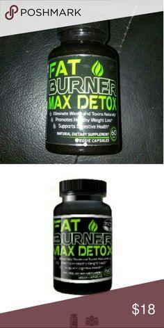 Fat Burner Max Detox - Weight Loss Fat Burner Max Detox - Weight Loss Supplements For Colon Cleanse & Detox  60 Vegan Friendly Pills/ Bottle  Burn Fat, Get Rid Of Toxins & Improve Digestion SALE TODAY ONLY Fat burner max  Other