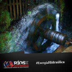 La Energía Hidráulica, se obtienen de la corriente de agua o de los saltos de agua, o bien de la acumulación de agua mediante represas y la posterior liberación de una mínima parte, cuya corriente hace mover las turbinas que van directamente conectadas a un generador de energía eléctrica. #EnergíaLimpiayVerde