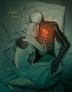 dead man & mermaid