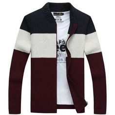 Mu Yuan Yang Men's Sweaters 2016 Plus Size Sweaters Mens Cardigan Brand Clothing Striped Sweater Men Knitwear Clothing XXL XXXL
