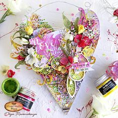 Sometimes an unexpected gift from your beloved one will be a great kick-off to create something gorgeous!! Olga Ravenskaya shares her project with you on our blog today (with video). Alters, Altered Art, Kicks, Create, Summer, Projects, Tile Projects, Summer Time