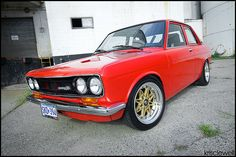 Datsun 510- 1970 model, my first car!