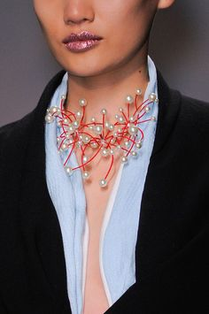 Christian Dior Couture Fall 2013 accessories, necklace