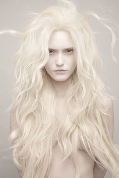 albino mermaid #portrait #photography