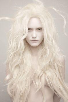 albino mermaid #portrait #photography