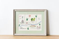 This item is a watercolor map of the city of Phoenix, Arizona. This art print measures x Phoenix Arizona, Watercolor City, Watercolor Print, Watercolor Christmas Tree, Printable Christmas Cards, Housewarming Gifts, City Art, Map Art