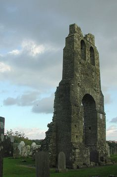 Graveyard in County Meath by zadcat, via Flickr