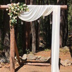 Dusty Rose and Burgundy Wedding Arch Chiffon Panels, Canopy Draping, Chuppah Drapes Wedding Jobs, Farm Wedding, Rustic Wedding, Wedding Ideas, Wedding Advice, Wedding Signs, Wedding Pictures, Boho Wedding, Wedding Details