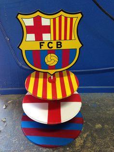 Pastelera De Barcelona Futbol Soccer Birthday Parties, Birthday Themes For Boys, Football Birthday, 10th Birthday, Baby Birthday, Barcelona Soccer Party, Fc Barcelona, Lego Font, Fiesta Mickey Mouse
