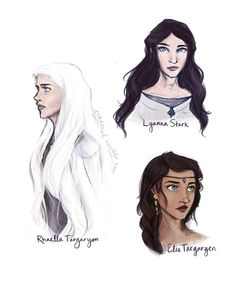 Pix For > Rhaegar Targaryen And Elia Martell