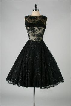 Vestido Vintage / Vintage Style