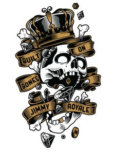 T-Shirt design for Melbourne based streetwear brand Jimmy Royale