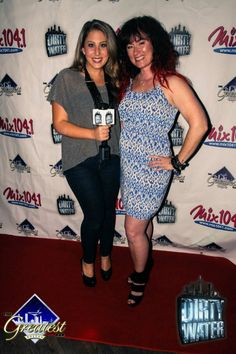 DWTV's Jillian and Kennedy, our favorite radio host, from Mix 104.1!