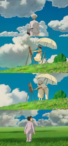 """Who has seen the wind? Neither I nor you: But when the leaves hang trembling, The wind is passing through."" (The Wind Rises), 2013"