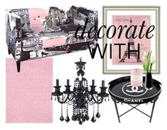 Chanel in Skyline & Pink Interior Decorating, Interior Design, Next Door, Kate Spade, Skyline, Chanel, Interiors, Gallery, Polyvore