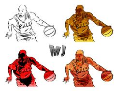 Michael Jordan on Behance