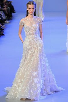 Gown by Elie Saab