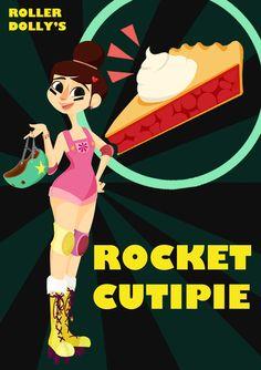 I love You Roller Derby Girl, elysego: My favorite Roller Derby team.