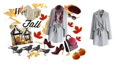 """""""we love fall... :)"""" by zuza-boza on Polyvore featuring Chicwish, Casadei, Les Petits Joueurs, Burberry and Accessorize"""