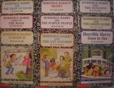 Lot of 9 Horrible Harry Accelerated Chapter Books by Suzy Kline AR 3 ~ Ages 7-10