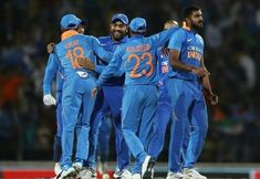 Indian National Cricket Team is fondly called 'Men in Blue' for decades. Fans are habituated to see their famous stars in shades of Blue. 1992 World Cup was the first World Cup with coloured jersey… Cricket Videos, Latest Cricket News, Cricket Score, Live Cricket, Cricket World Cup, India Vs Pakistan, First World Cup, Match Schedule, Latest Football News