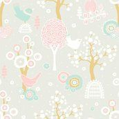 """Majvillan Wallpaper Company brings us this grey children's wallpaper """"Cherry Valley"""" where little birds sit on sweet dreams in a valley of flowers Non-Woven Wallpaper (paste the wall) Washable & Eco-Friendly Roll Size: x Repeat: Straight Match Grey Childrens Wallpaper, Grey Wallpaper, Wallpaper Paste, Kids Wallpaper, Amazing Wallpaper, Room Wallpaper, Little Girl Rooms, My Little Girl, Valley Of Flowers"""