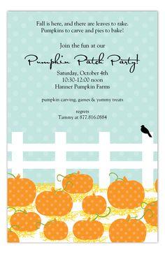 Plentiful Patch Invitation from Polka Dot Design
