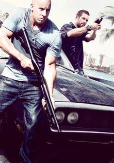 Fast Five poster Metal Sign Wall Art 8in x 12in