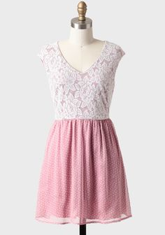 Starry Eyed Lace Detail Dress In Mauve at #Ruche @shopruche